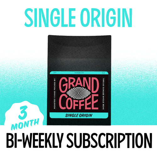 Single Origin Biweekly Gift Subscription: Three Months