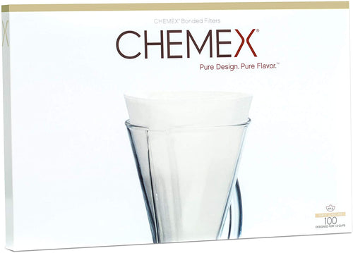 Chemex Half-Moon Filters for 3-Cup Brewer (100 ct.)