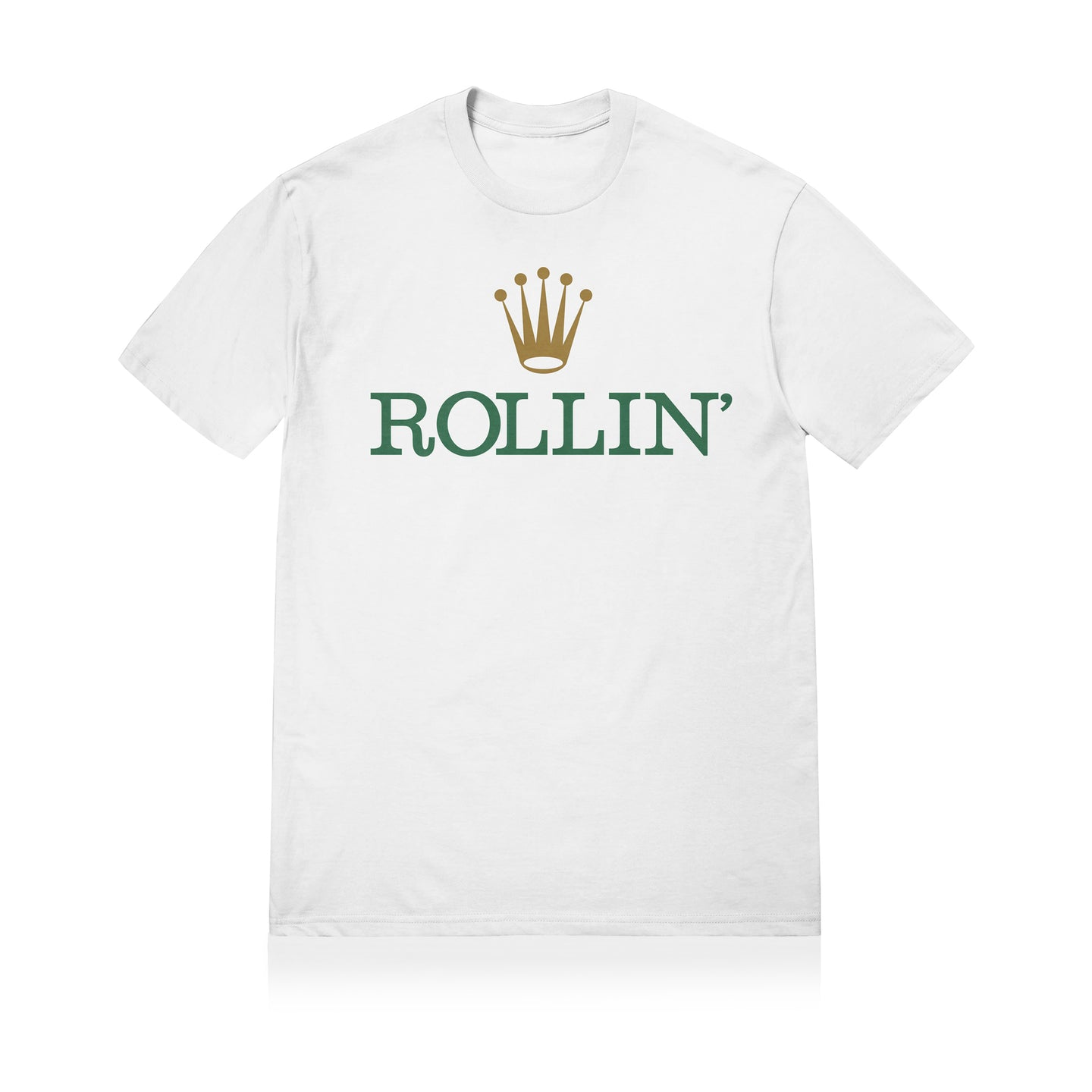 Sneaky ROLLIN Unisex Adult T-shirt White