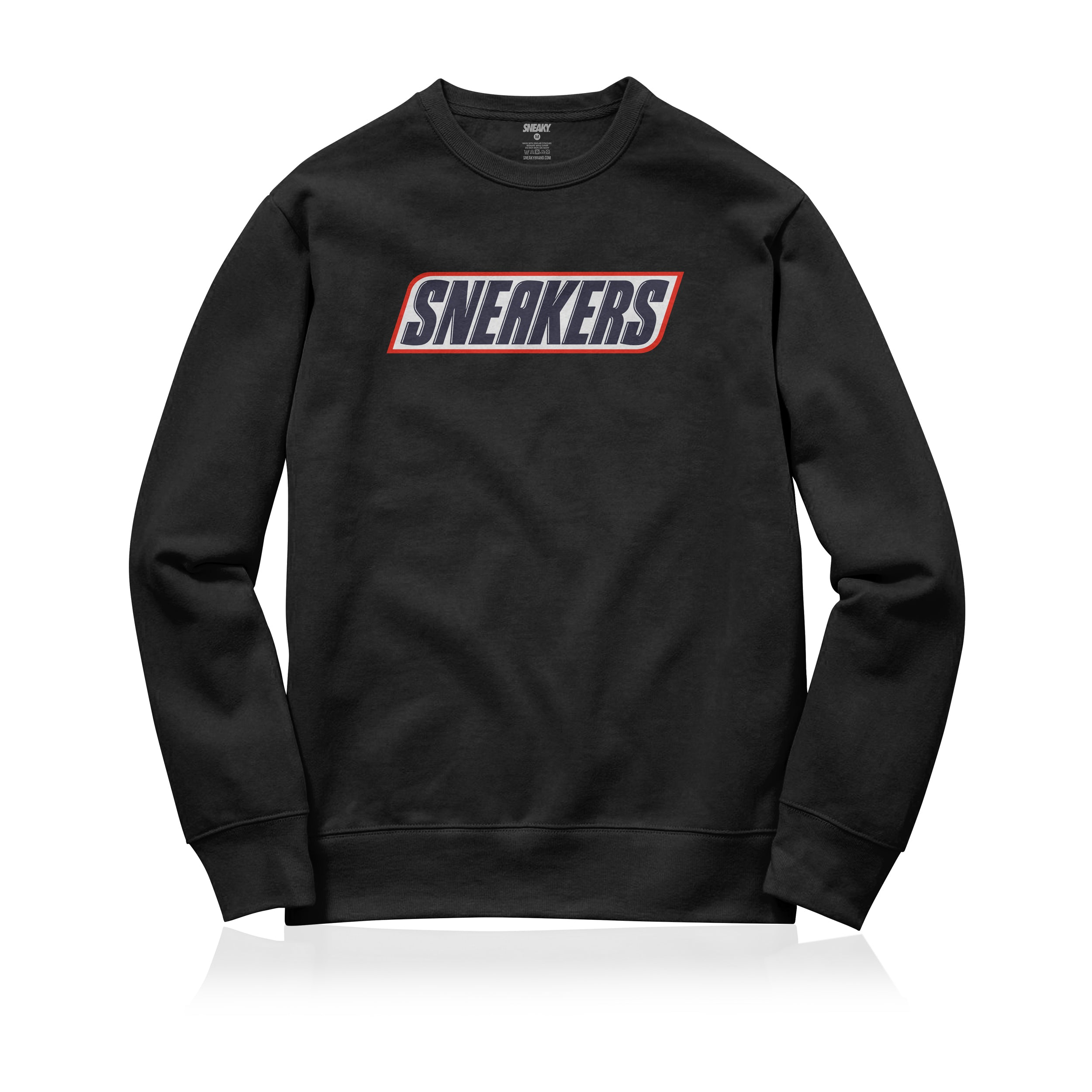 Sneaky Sneakers Bar Unisex Adult Sweatshirt Black
