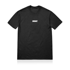 Sneaky Logo Unisex Adult T-shirt Black