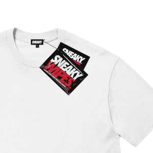 Sneaky Kick R Us Unisex Adult T-shirt White