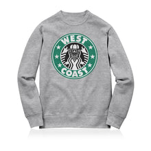 Load image into Gallery viewer, Sneaky West Coast Unisex Adult Sweatshirt Grey
