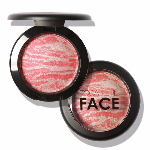 Focallure Blush Face Makeup Baked Cheek Color Blusher