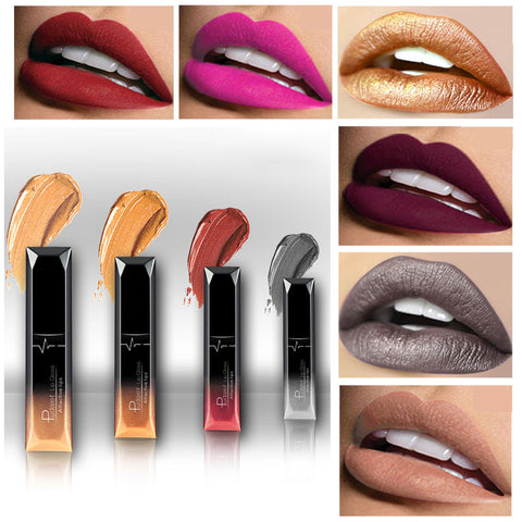 Long Lasting Lipstick Waterproof Matte Liquid Lip Gloss Lip Liner Cosmetics