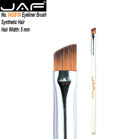 JAF Angled Eyebrow Brush Synthetic Taklon Hair Gel Eyeliner