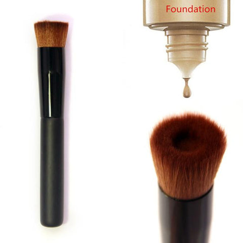 Flat Perfecting Face Brush Premium Foundation Makeup Brush