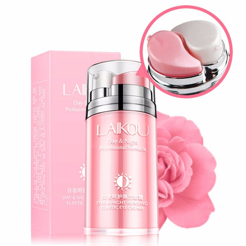 LAIKOU Rose Oil Day Night Nursing Elastic Eye Cream