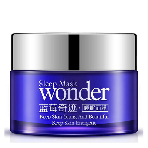 2Pcs BIOAQUA No Wash Blueberry Sleeping Mask