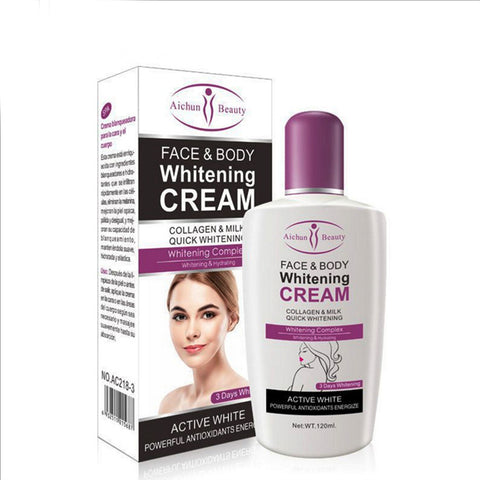 120ML Milk Body Lotion Beauty Whole Body Whitening Ultra Moisturizing Care Body Lotion