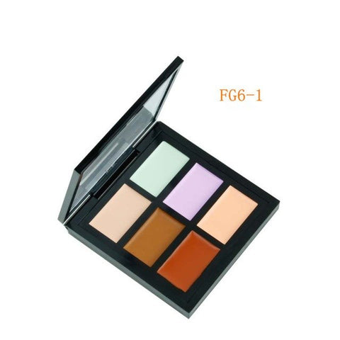 6 Color Professional Makeup Facial Concealer