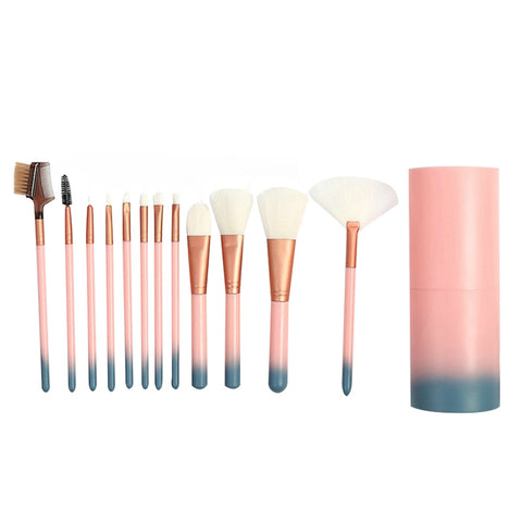 12 Pcs Makeup Brush Set Premium Professional