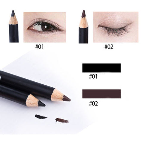 Coffee/Black EyeLiner Smooth Waterproof Cosmetic Beauty Makeup Eyeliner Pencil