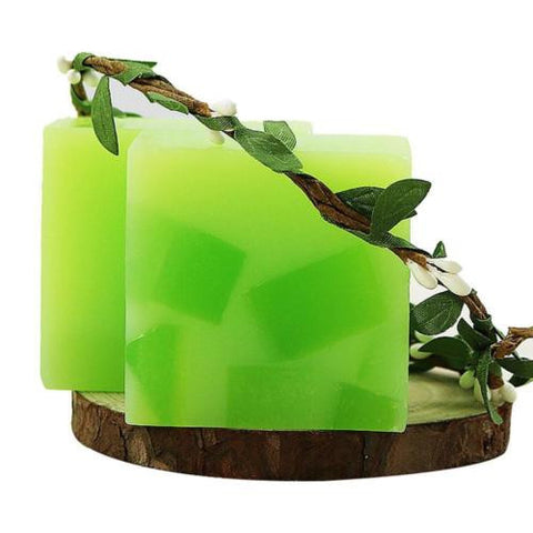 1Pcs 50g Aloe Vera Jelly Essential Oil Soap