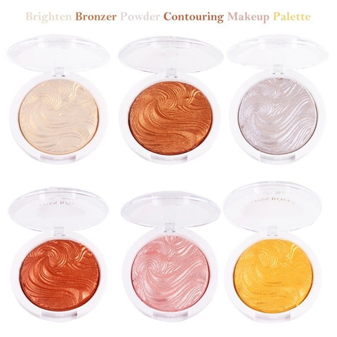 1pcs Face Makeup Shimmer Highlighter Powder