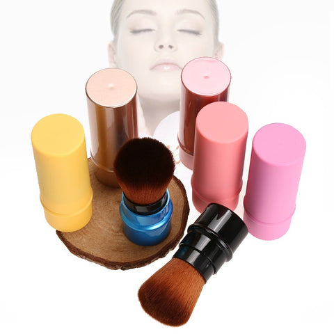 Retractable Cosmetic Brush Makeup Contour Foundation Blush Tool