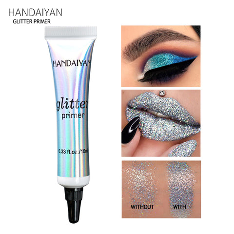 Makeup Glitter Sequined Lips Primer Eye