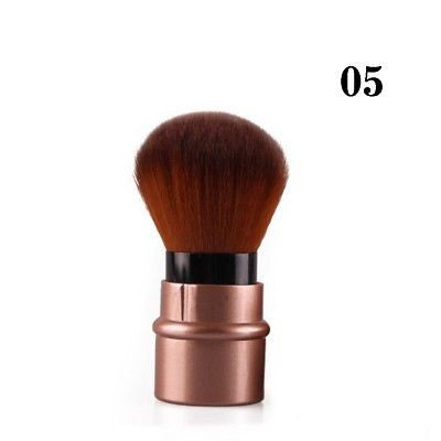 Mini Retractable Foundation Makeup Powder Blush