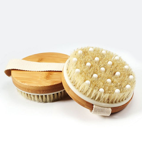 Hot Sale Natural Boar Bristle Wooden Brush M