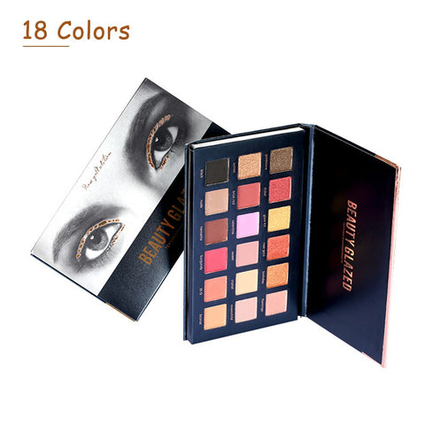 BEAUTY GLAZED Eyeshadow Palette Eye Shadow Make Up Waterproof