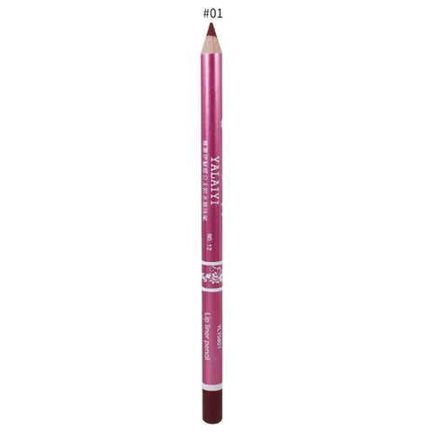 Brand Waterproof Matte Lipstick Pencil Long Lasting Moisturizer
