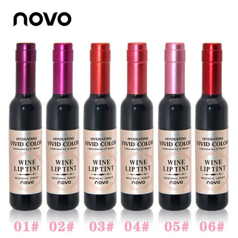 Red Wine Bottle Lips Makeup Moisturizer