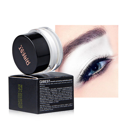 Qibest Full Cover White Eye Primer Base Eye Makeup