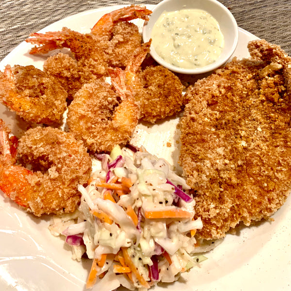 Zero Carb Fried Shrimp