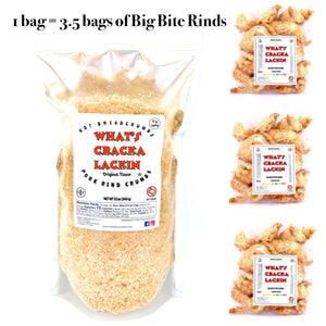 Pork Rind Crumbs Original Flavor 12 oz