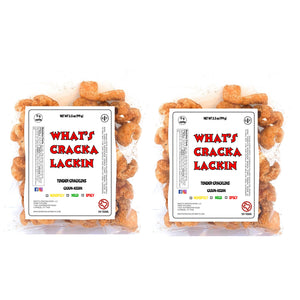 Tender Cracklins with Fat Attached 7 oz (twin pack)