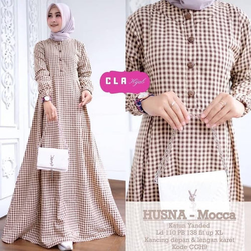 Husna Maxi Dress, MyArrum, - MyArrum
