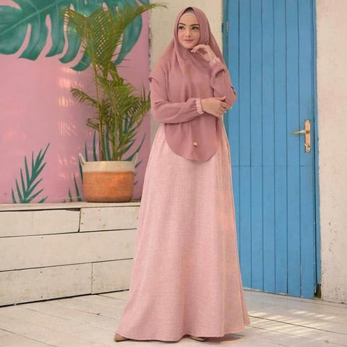 Mawar Syari Dress, MyArrum, - MyArrum
