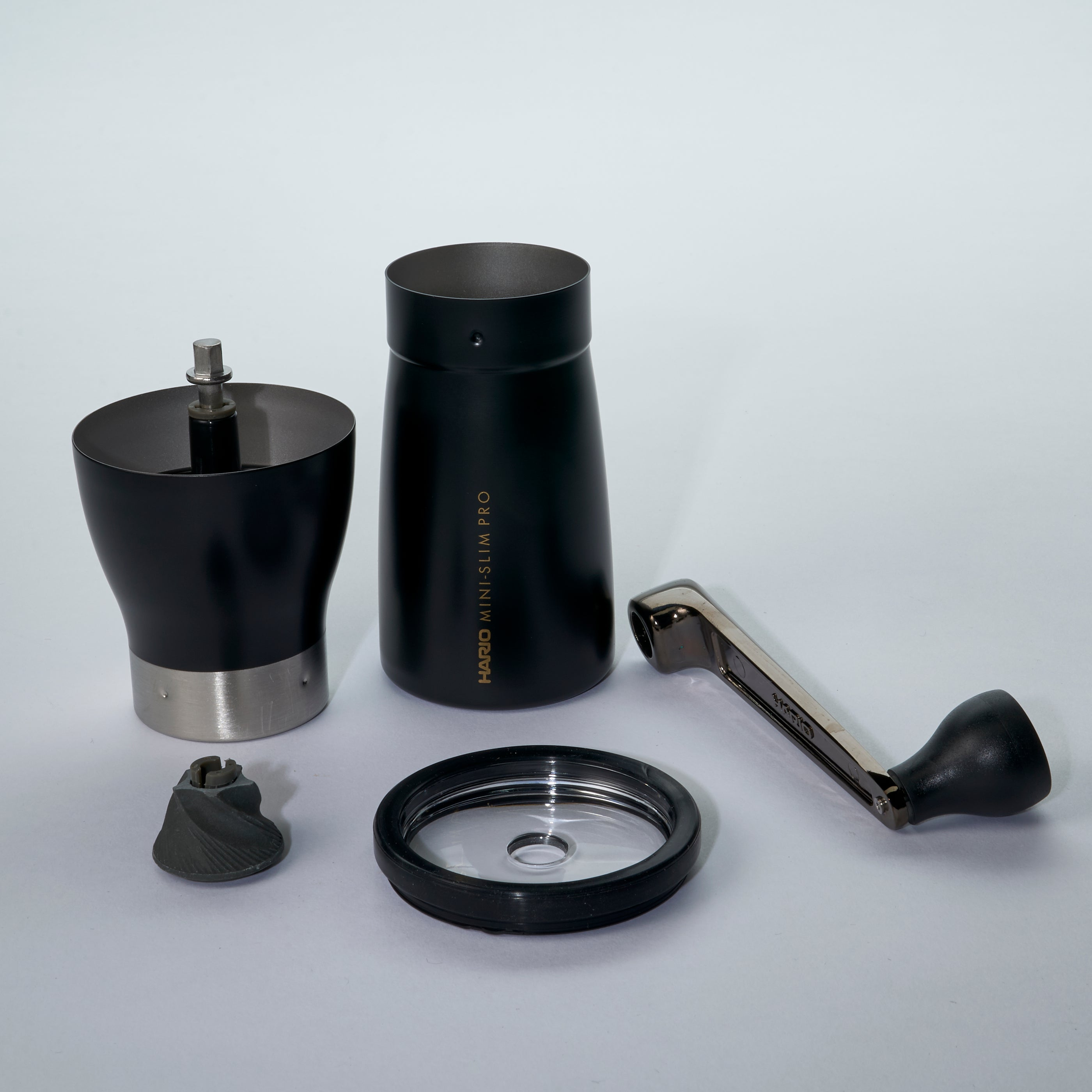 "Hario Ceramic Coffee Mill ""Mini Pro"" Black"