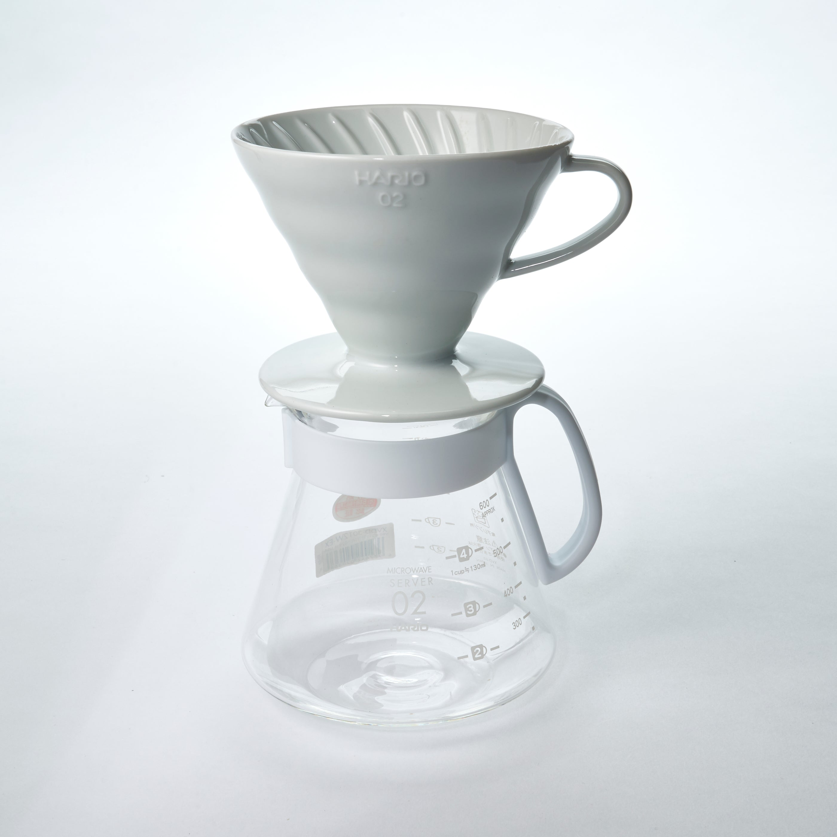 Hario V60 Ceramic 02 Dripper Set 600ml