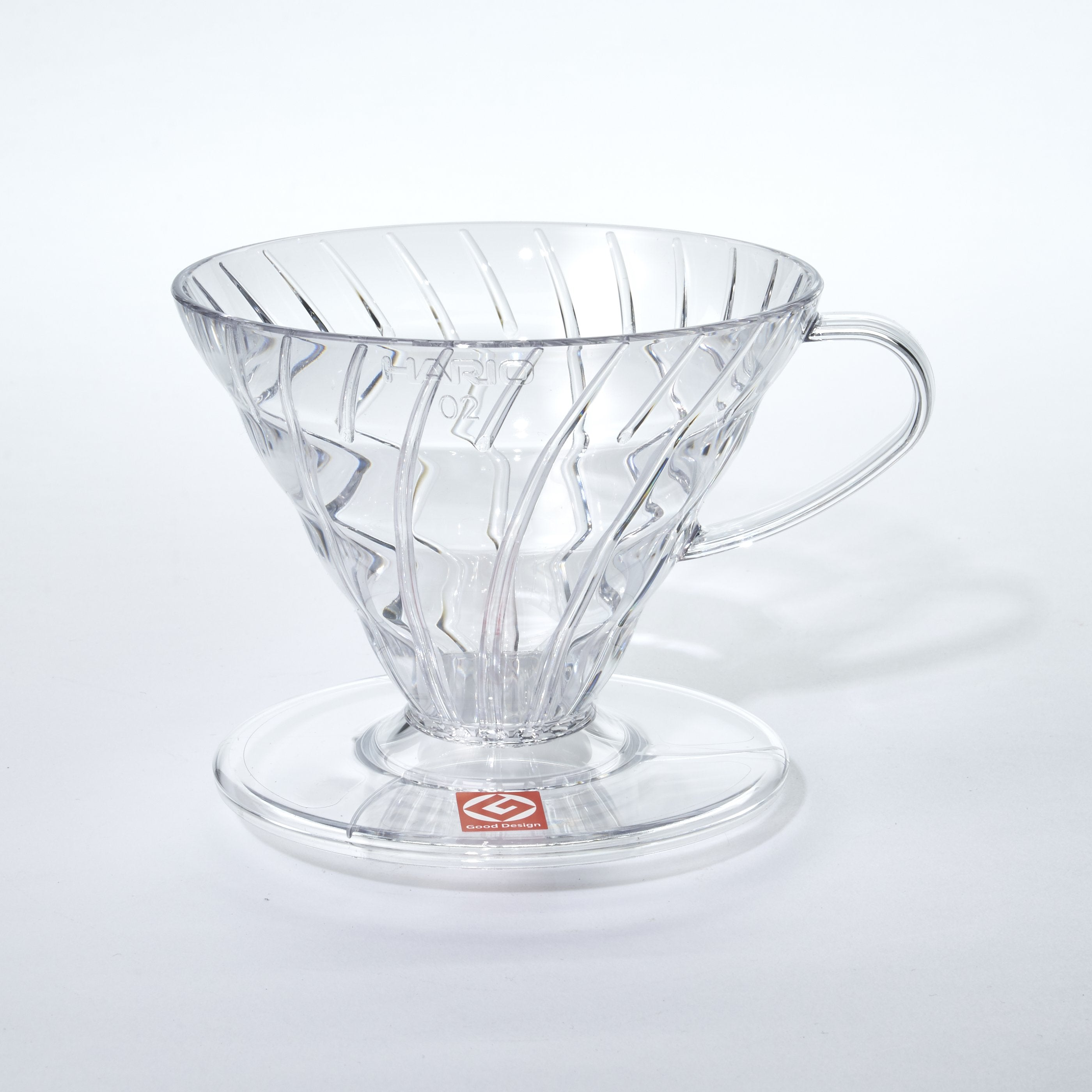 Clear plastic Pour Over V60 Dripper
