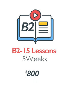 B2 - Intermediate Stage (15 Lessons)