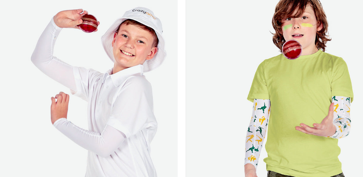 Crazy Arms Cricket Sleeves – Girls and Boys