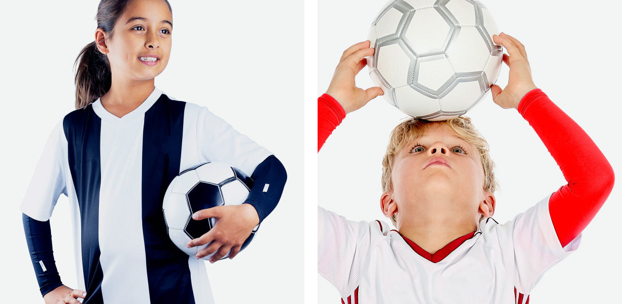 Crazy Arms Soccer Sleeves – Girls and Boys