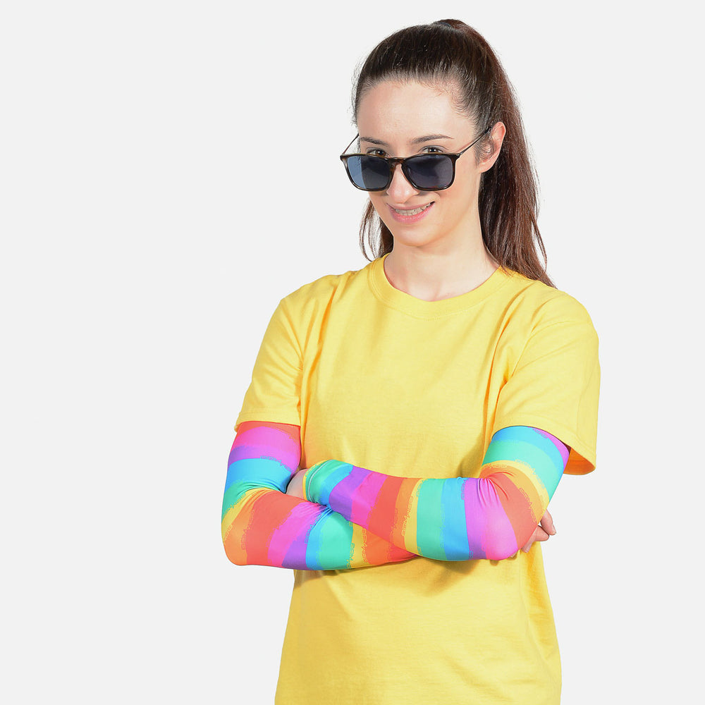 Rainbow Arm Sleeves – Adult