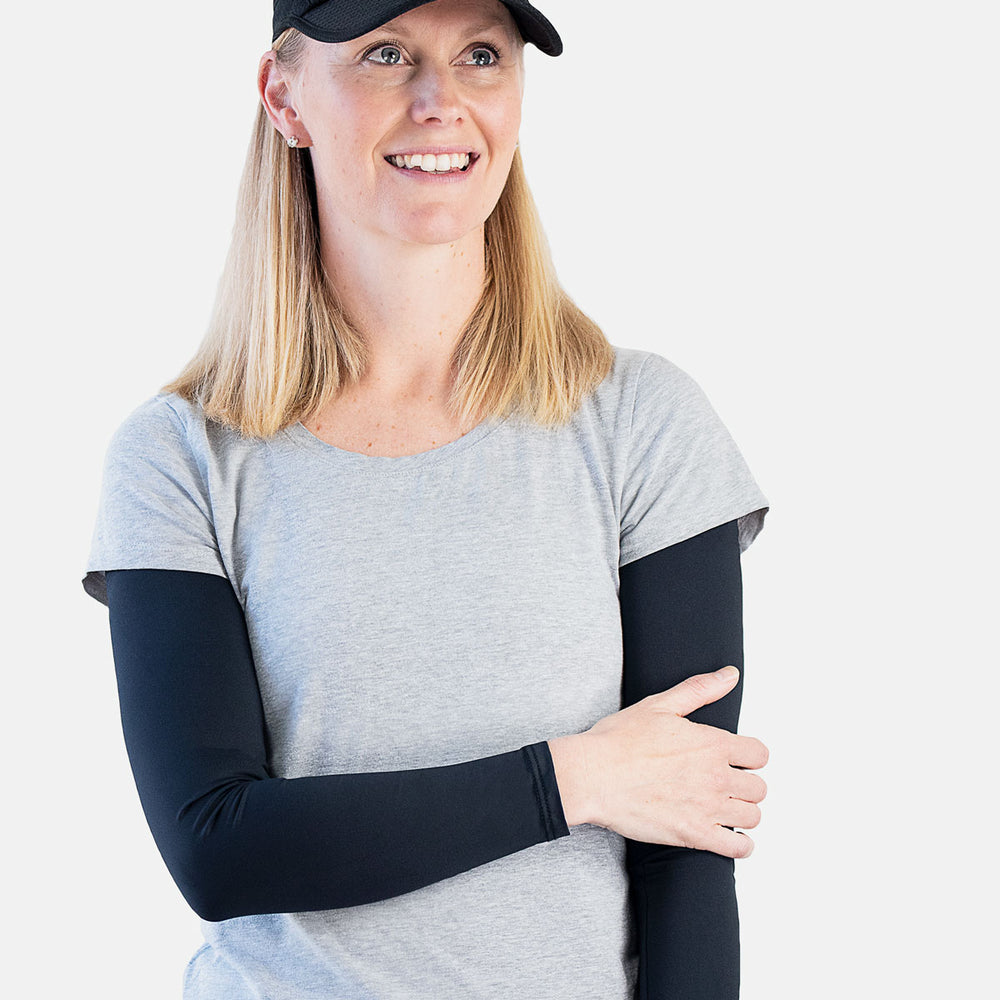 Sun protective sleeves - Black swatch
