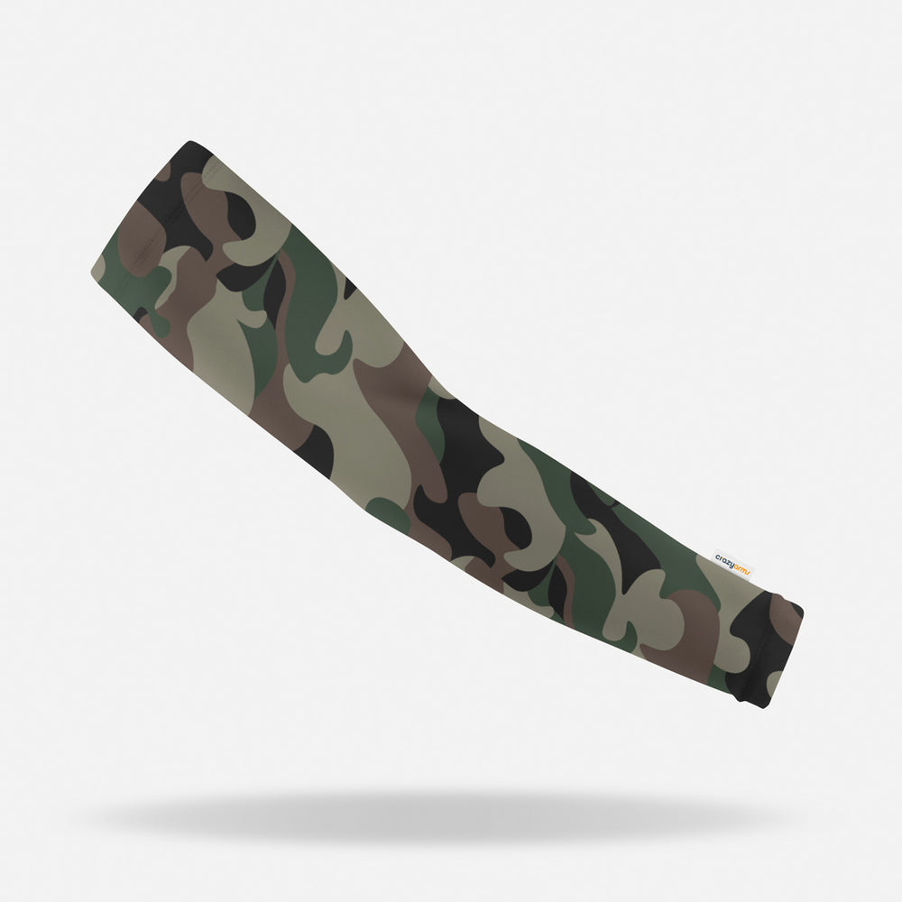 Sun protective sleeves for children - Camo design
