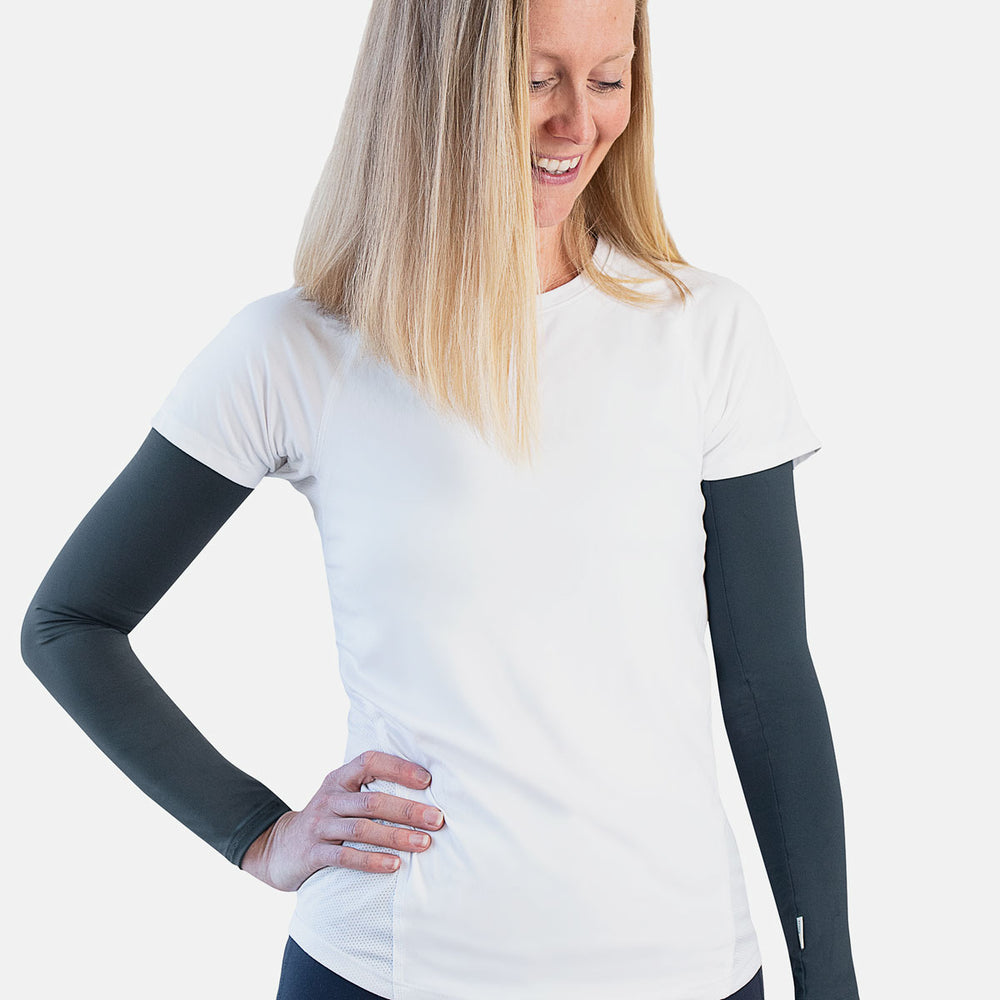 Sun protective sleeves for women - Urban Grey Swatch