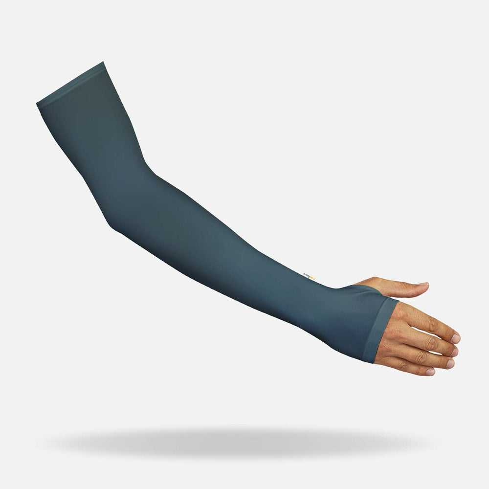 Urban Grey Arm Sleeves with Thumbhole - Women