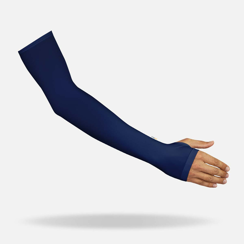 Dark Blue Sleeves with Thumbhole - Men