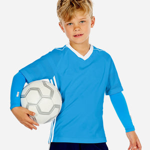 Sun protective sleeves for children - Ocean Blue design