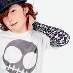 Sun protective sleeves for children - Skull swatch
