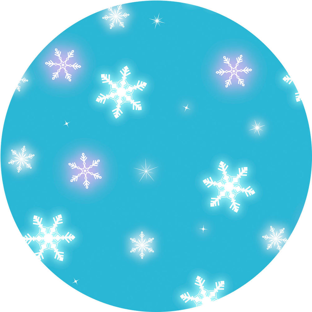 Sun protective sleeves for children - Snowflakes swatch