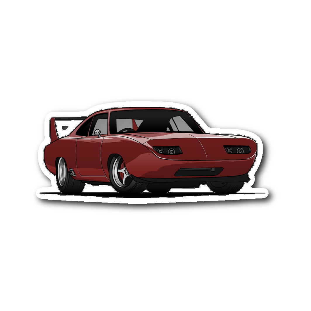 Dom's Daytona Die Cut Sticker