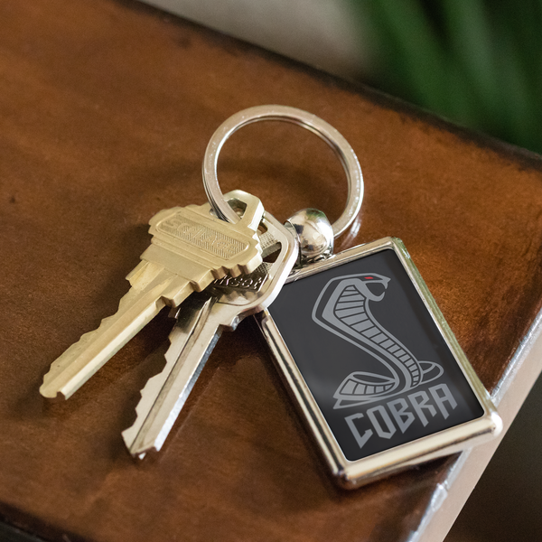 Cobra Keytag Keychain Cobra Keytag - Automotive Army teelaunch