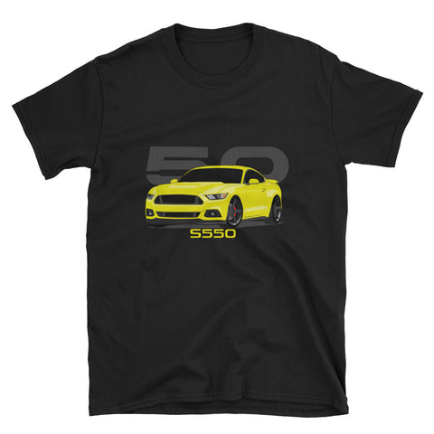 Triple Yellow S550 Unisex T-Shirt Triple Yellow S550 Unisex T-Shirt - Automotive Army Automotive Army